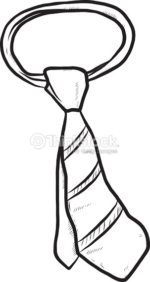 Cravate clipart vectoriel thinkstock - Dessin de cravate ...