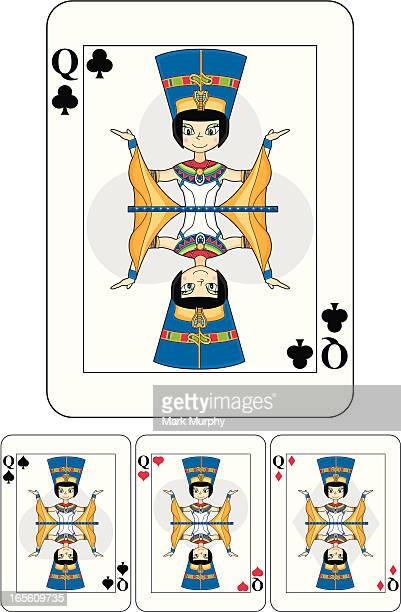 Nefertiti Egyptian Queen Playing Card