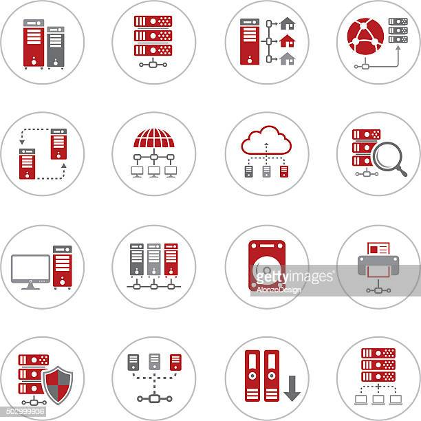 Network and Hosting Icons