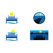 a set of dock icons