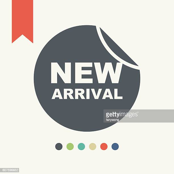New arrivals sign icon