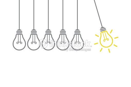 New Creative Idea Concept : stock vector