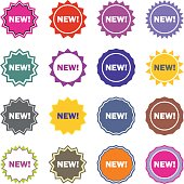 new icon business sign set vector