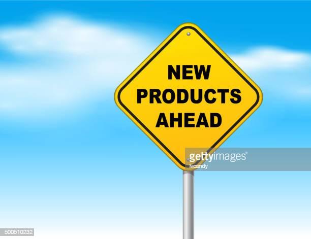 Nouveaux produits à l'avance