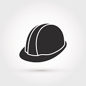 This is a vector illustration of new safety helmet