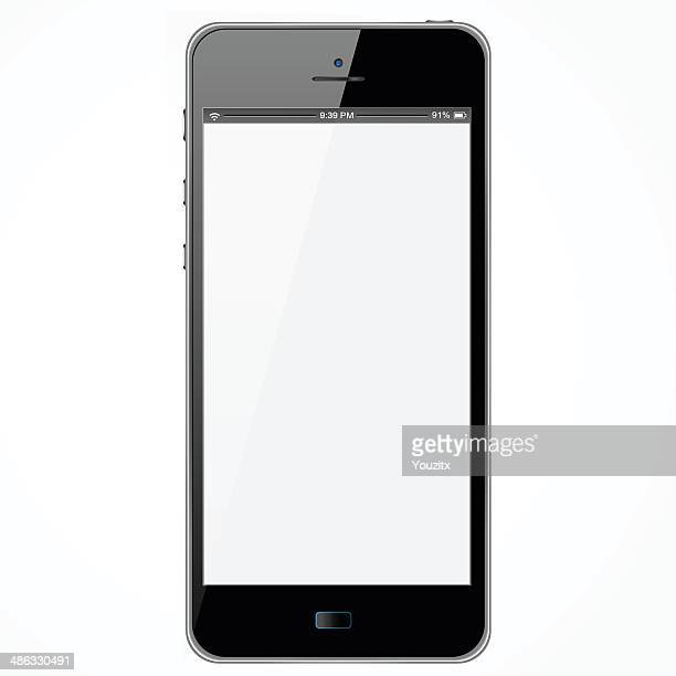 New Smartphone With White Screen