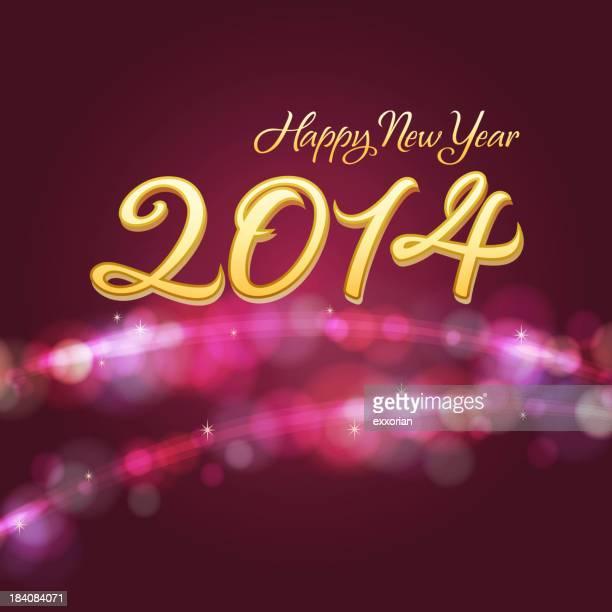 Fond de la nouvelle année