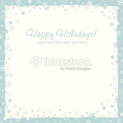 new year christmas background with snowflakes border vector art