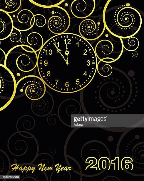 Nouvelle horloge de l'année