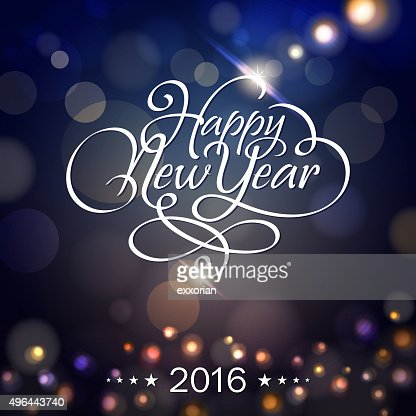 New Year lighting background : Vector Art