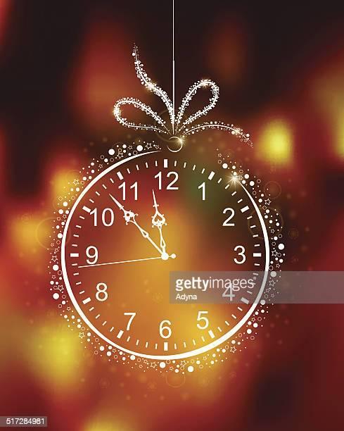 Compte à rebours pour la nouvelle année