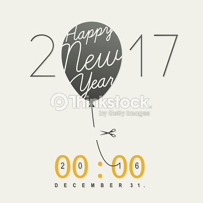 New Years Eve Card Vector Art | Thinkstock