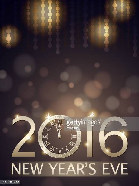 New Year's eve countdown 2016