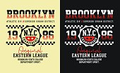 New York Brooklyn sports for T-shirt USA style, Vector Typography Design Concept