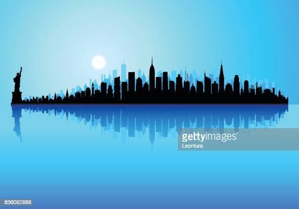 New York (alle gebouwen zijn afzonderlijke en volledige)