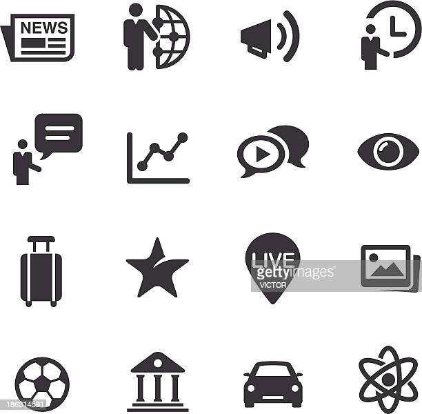 News Category Icons - Acme Series