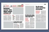 modern newspapers full graphical project
