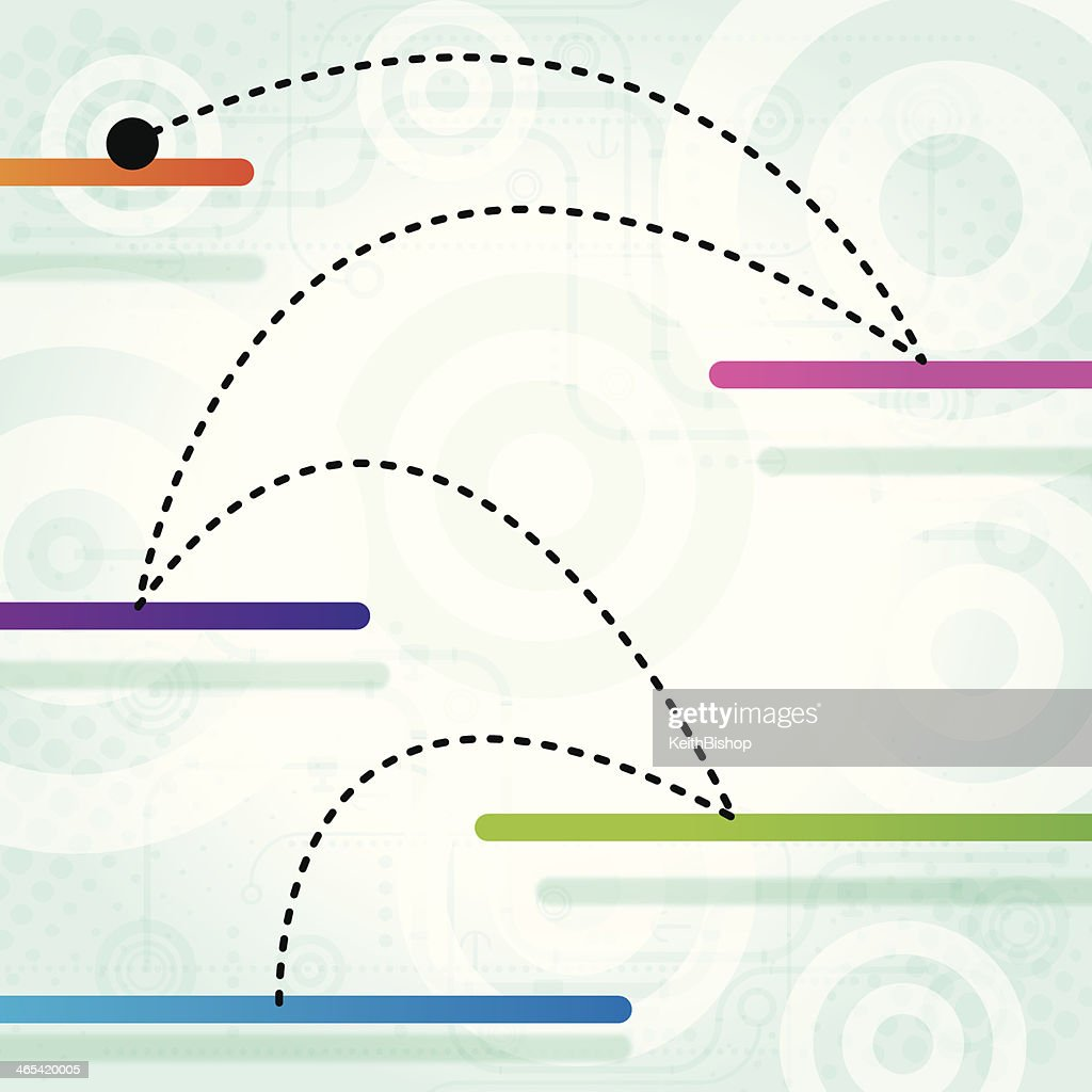 Next Level Concept Background Vector Art | Getty Images