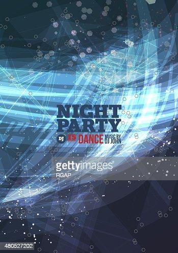 Night party Vector : Vectorkunst