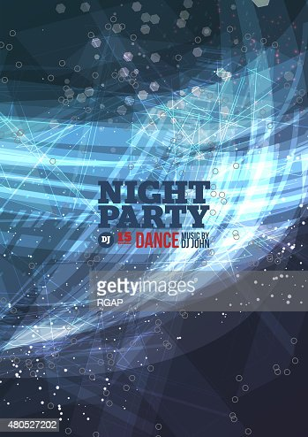 Night party Vector : Vector Art