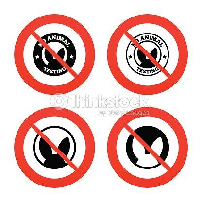 No animals testing icons nonhuman experiments vector art thinkstock - Produits a ne pas mettre dans une fosse septique ...