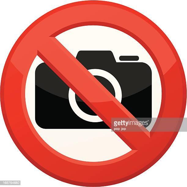 'No Camera' sign