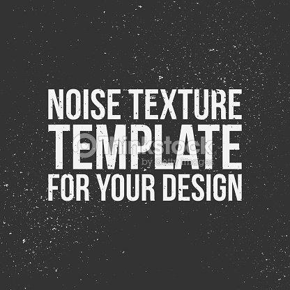Noise Vector Texture Template Vector Art | Thinkstock