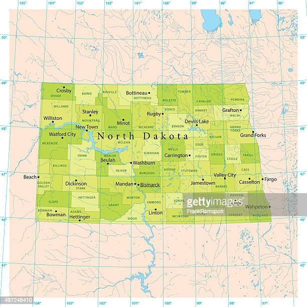 Bismarck North Dakota Stock Illustrations And Cartoons Getty Images - North dakota city map