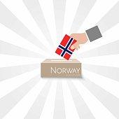 Norway Elections Vote Box Vector Work