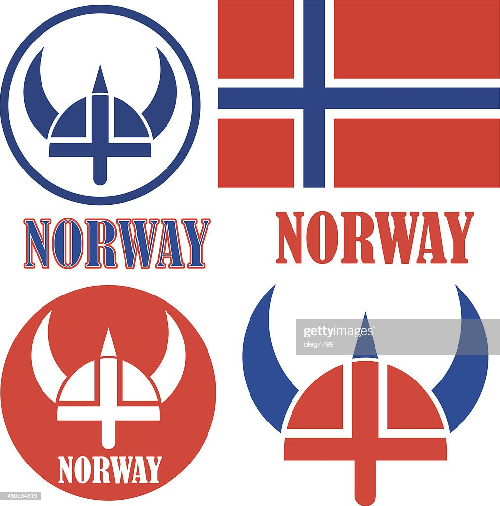 Norway : Vector Art