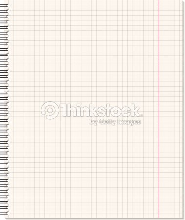 notebook page vector art