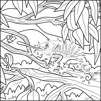 Numbers game for children vector art thinkstock for Camo coloring pages