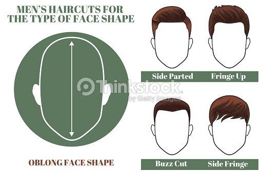 59bf3e337f170 Oblong Face Shape stock vector - Thinkstock