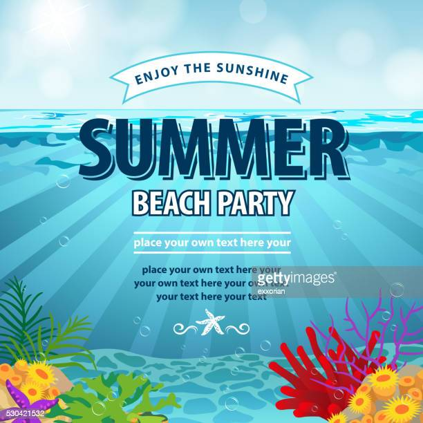 Ocean Floor Summer Beach Party