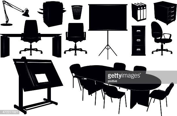 29 Luxury Office Furniture Silhouette | yvotube.com