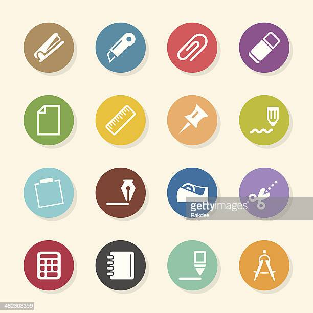 Office Icons Set 2 - Color Circle Series