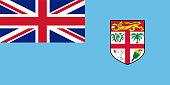Official vector flag of Fiji .