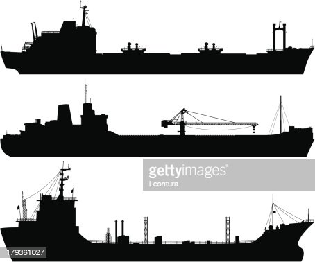 Oil Tankers Vector Art | Getty Images