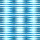 Oktoberfest Background - Vector Seamless Bavarian Flag Pattern. Vector Illustration