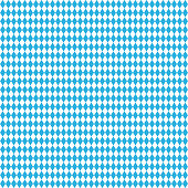 Oktoberfest blue seamless background. Vector rhombus illustration