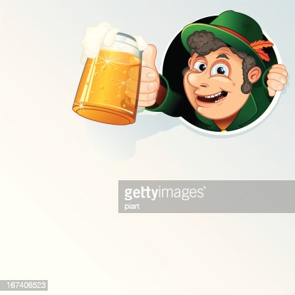 Oktoberfest Man : Vector Art