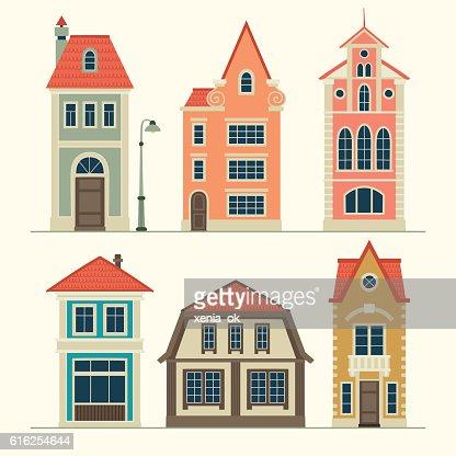 old casas  : Arte vectorial