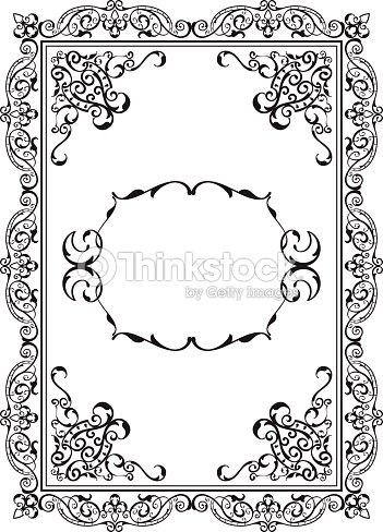 Old Nice Frame Vector Art | Thinkstock