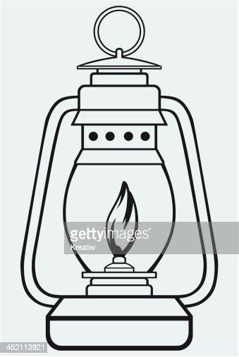 Lampe clipart  Vieux Lampe à Pétrole Clipart vectoriel | Thinkstock