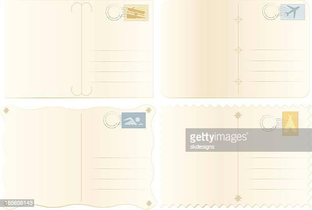 "Alte Postkarte-Set-reisen, Urlaub """