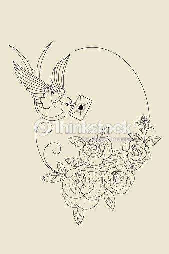Old School Tattoo Symbols Vector Art Thinkstock