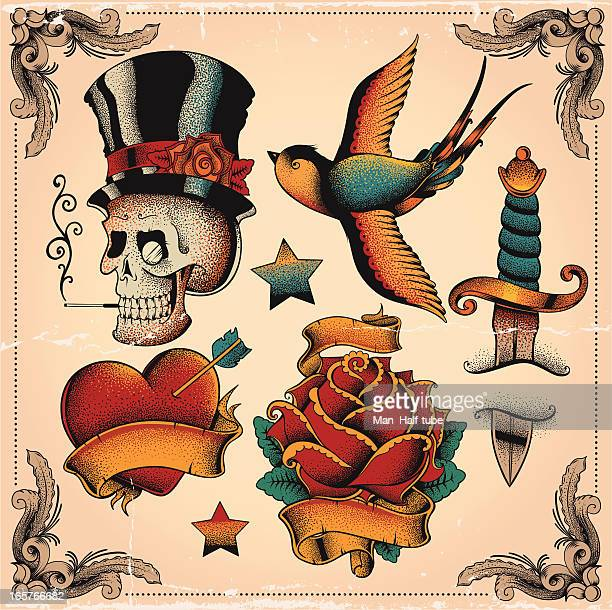 Old school tatuajes