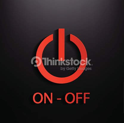On Off Switch Icon Vector Art Thinkstock
