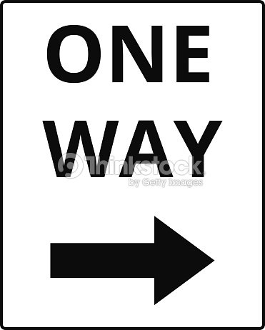 One Way Signs Vector Art Thinkstock