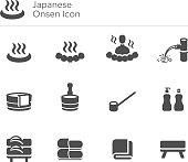 chair, dipper, bowl, spring, bathroom, travel, bathtub, vector, tub, symbol, towel, private, steam, shampoo, bathing, traditional, asia, icon, illustration, wood, bath, tradition, relax, set, wooden,